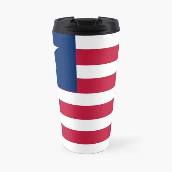 The Liberia Flag Travel Mug