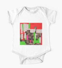 textile, rectangle, art, design, symbol, paper, christmas, cross, wood, green color, no people, colors, square One Piece - Short Sleeve
