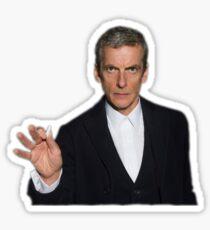 Doctor Who - Listen (Peter Capaldi) Sticker