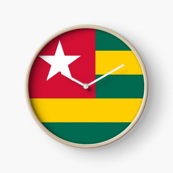 The Togo Flag Clock