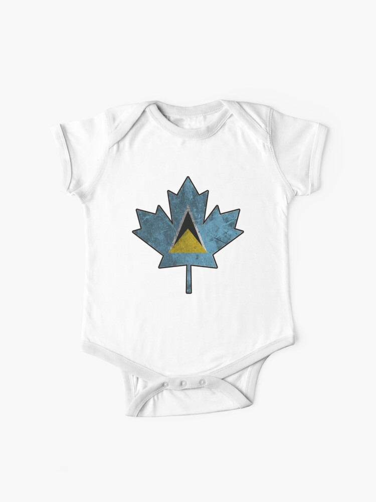 Adorable St Lucian St Lucia Baby Bodysuit One Piece