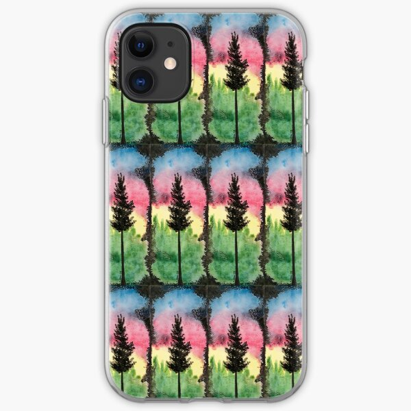 Inky Tree #1 iPhone Soft Case