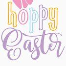 Hoppy Easter by blackcatprints