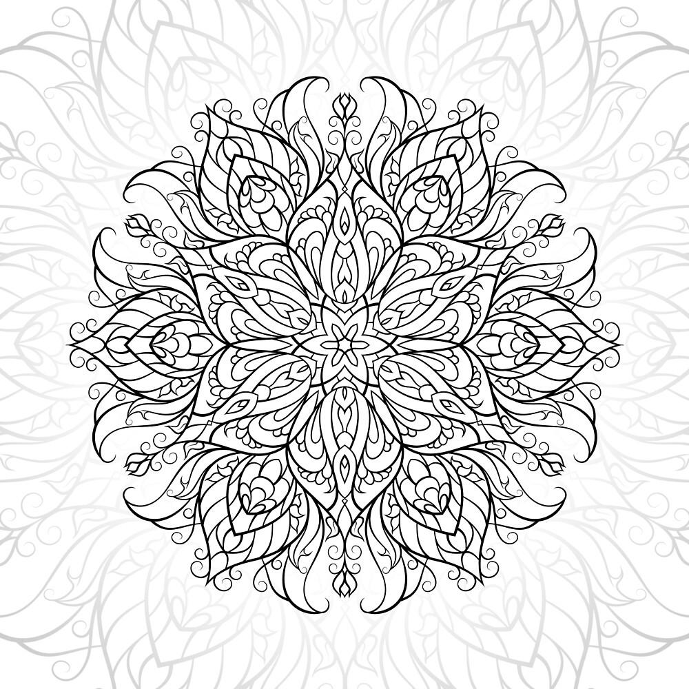 DiceBird Beauty flower by dicebird