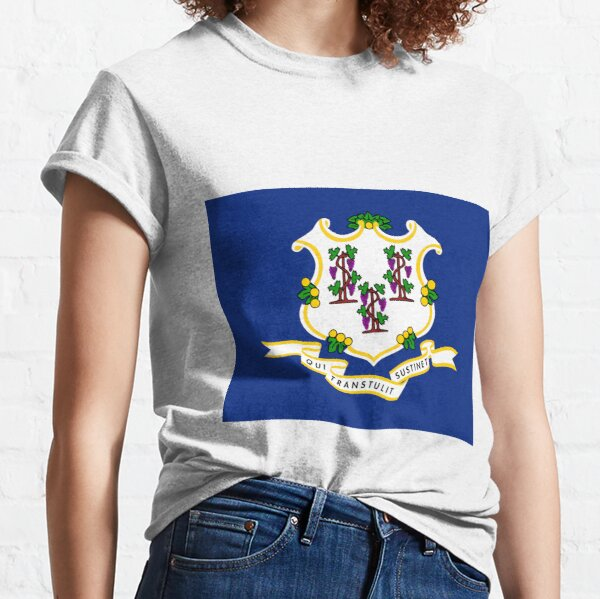 Connecticut State Flag Classic T-Shirt