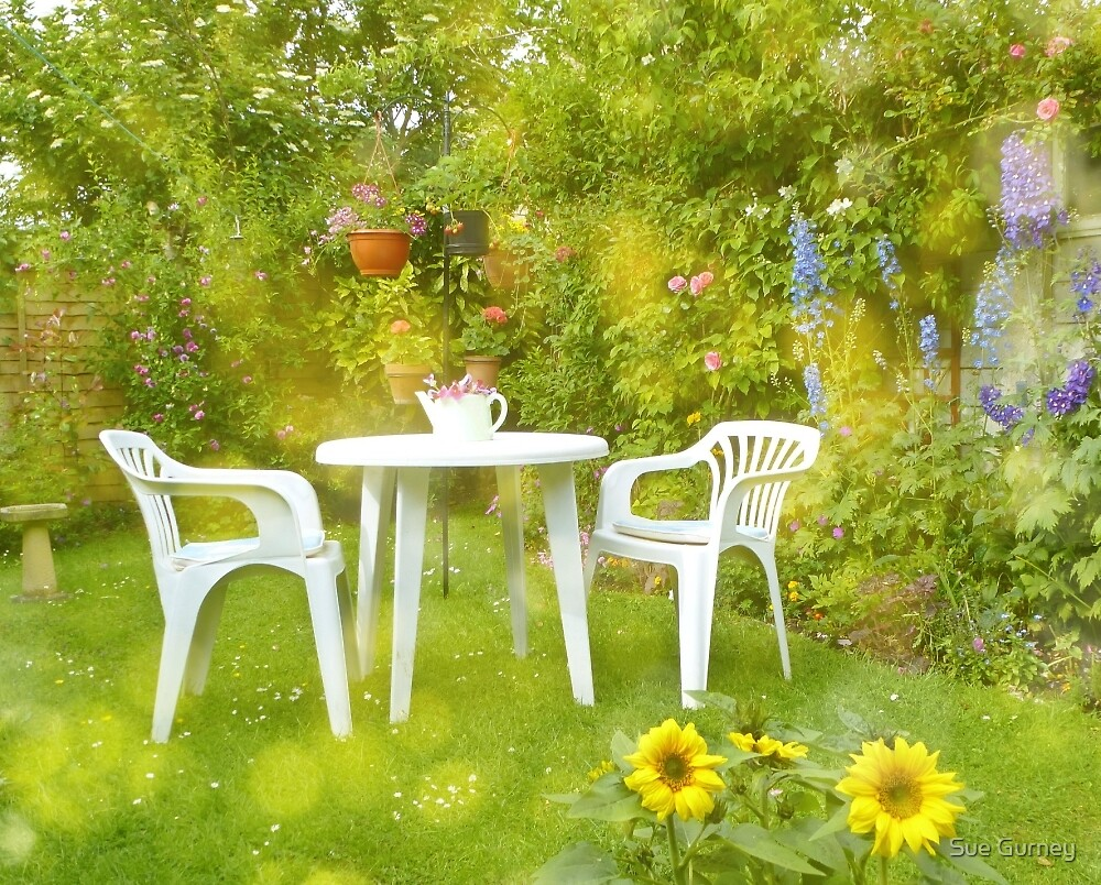 A Summer Garden by Sue Gurney