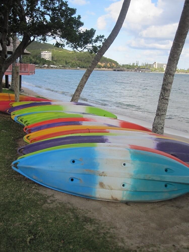 Paddle Boards in Nouméa by vspicerstuart
