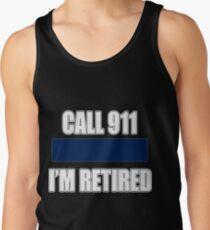82d0855c713bc Retired Police Officer Design Retirement Gift Image Cop Men s Tank Top