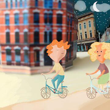 On Yer Bike by aileenswansen
