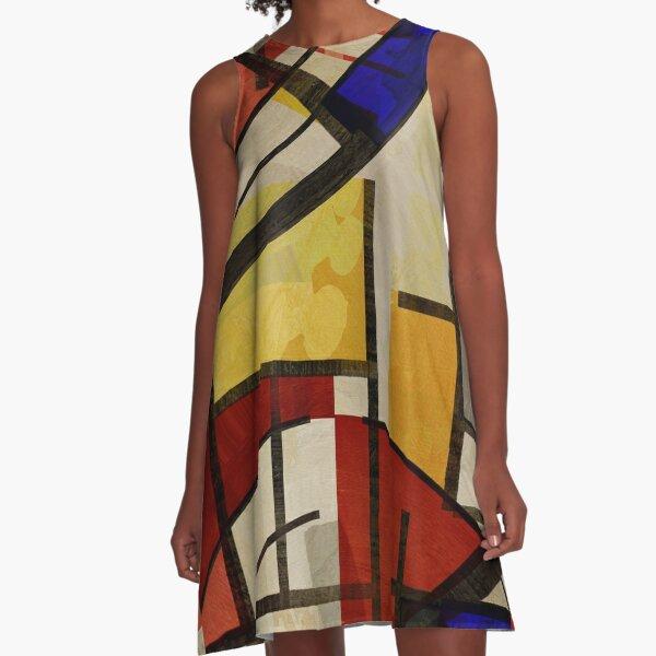 London Squares THREE TWO FOUR A-Line Dress