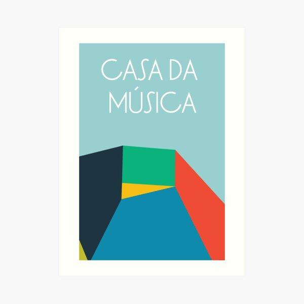 Casa da Música Art Print