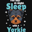 Yorkshire Terrier Yorkie Nettes Hundet-shirt von Viral-Designs