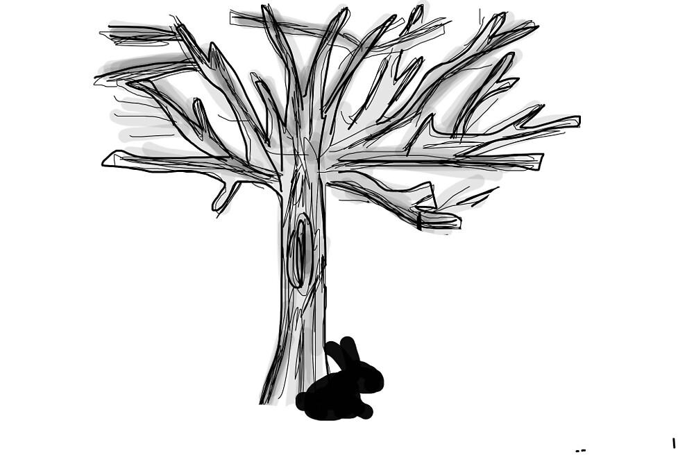 Bunny tree by GiorgiaM6