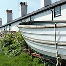 Boat by the Cottages - Spring 2010 by blindskunk