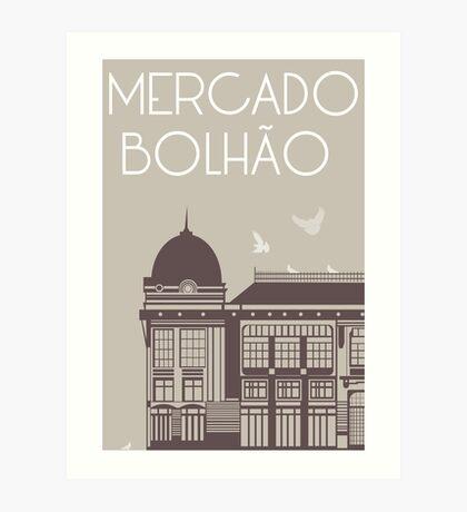 Mercado Bolhão Art Print