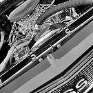 68 Chevelle Engine View by Mark Bolen
