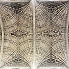 Kings College Chapel Roof, Cambridge, UK by blindskunk