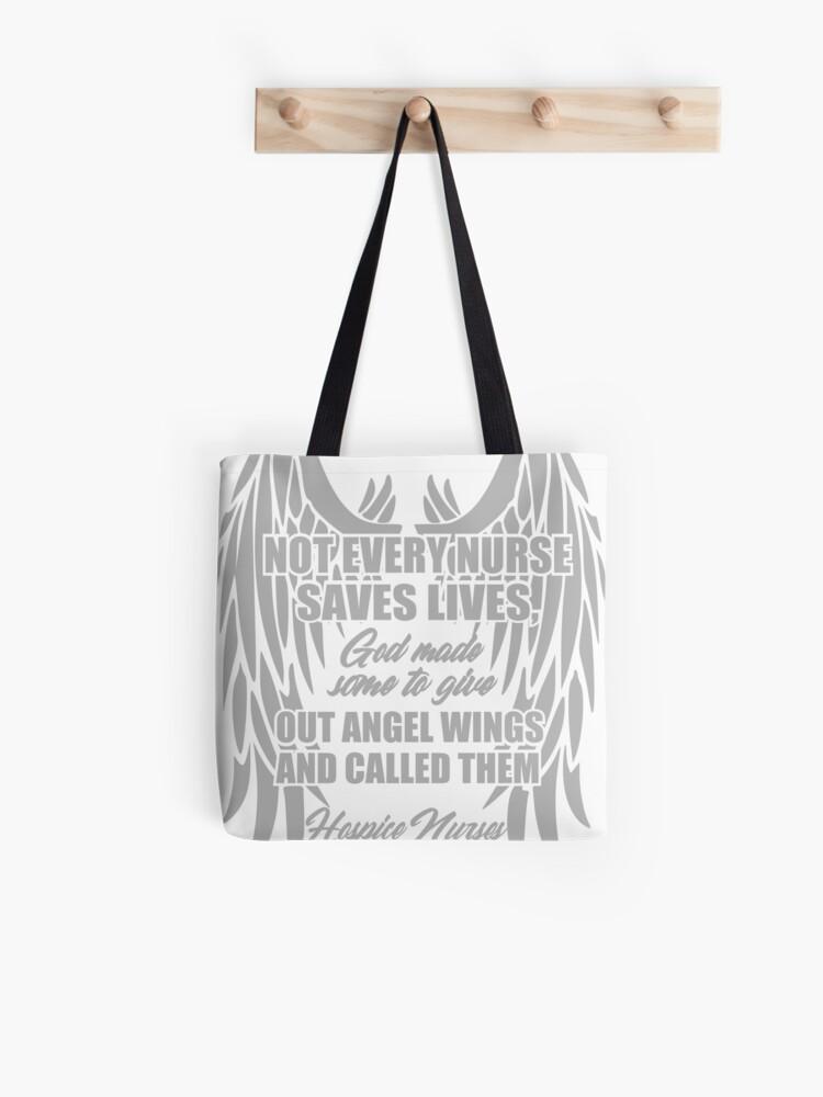 Canvas Bag God created a nurse