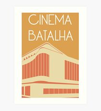 Cinema Batalha Art Print