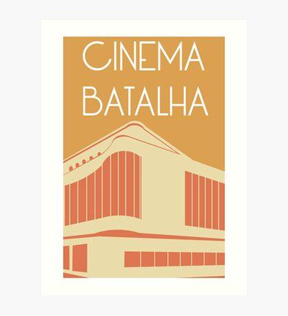 Cinema Batalha Art Print