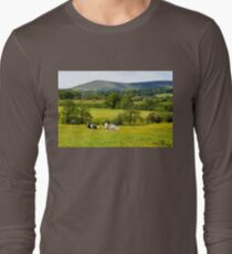 Cows in the Buttercups Long Sleeve T-Shirt