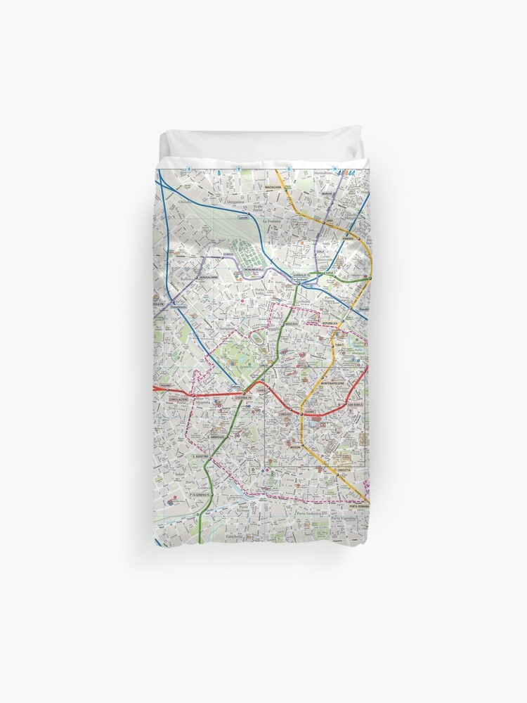 Milano - City Center Map - Italy - HD | Duvet Cover on city map of kahoolawe, city map of bolivia, city map of estonia, city map of the netherlands, city map of slovenia, city map of libya, city map of tanzania, city map of myanmar, city map of the carolinas, city map of bosnia and herzegovina, city map of kuwait, city map of slovakia, city map of antigua, city map of latin america, city map of aruba, city map of tuscany, city map of bahrain, city map of mesopotamia, city map of luxembourg, city map of holland,