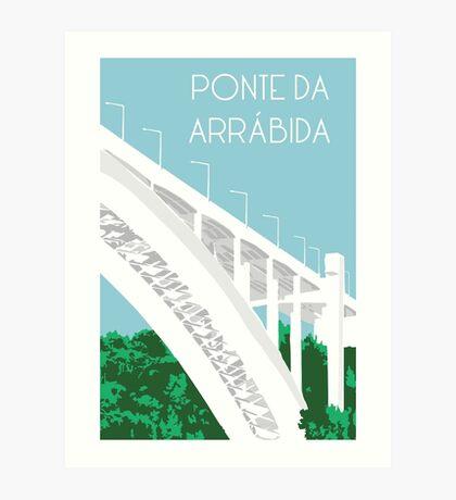 Ponte Arrábida Art Print