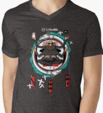 Spirited Away Bath House Crest V-Neck T-Shirt
