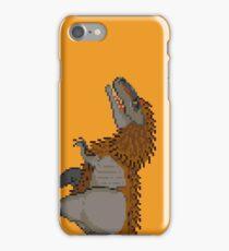 Tyrannosaurus Rex (with extra fuzz) iPhone Case/Skin