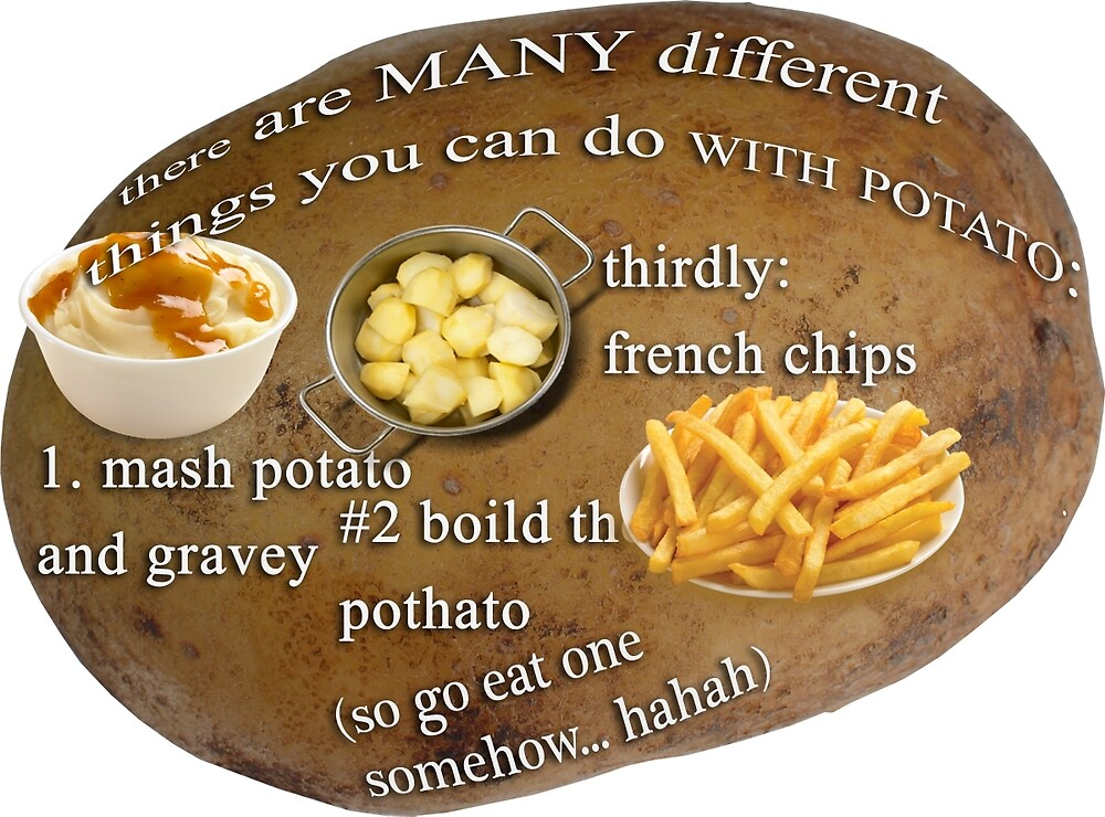 Potato Facts by Gidgeigs