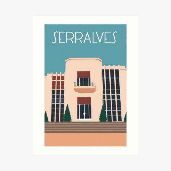 Serralves Art Print