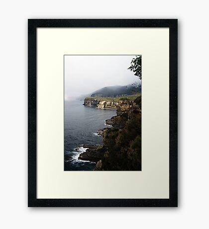 Rugged Coastline Framed Print