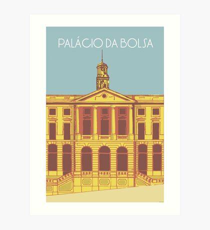 Palácio da Bolsa Art Print