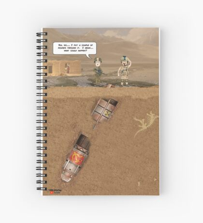 """EOD """"What could happen?"""" Spiral Notebook"""