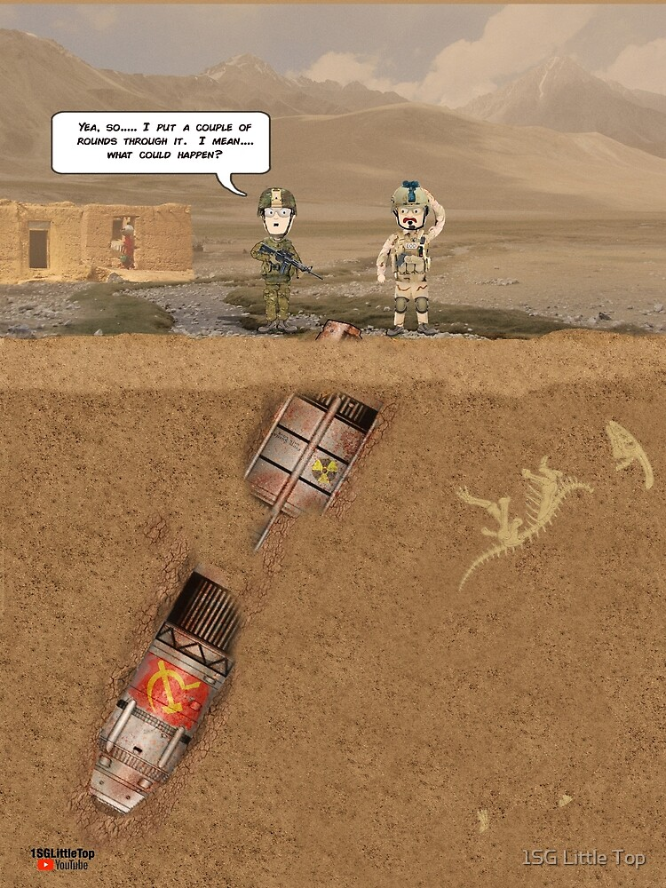 """EOD """"What could happen?"""" by 1SG Little Top"""