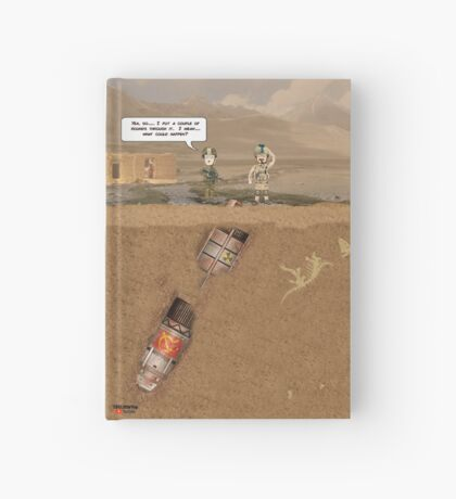 """EOD """"What could happen?"""" Hardcover Journal"""