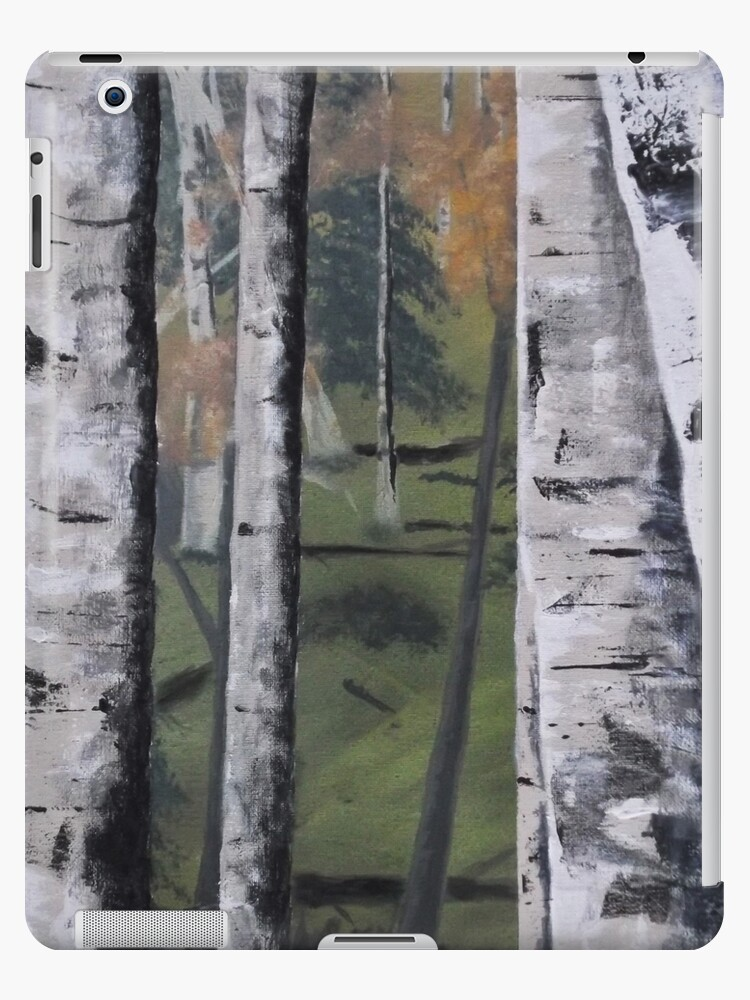 Forest Birches by Russell Halsema