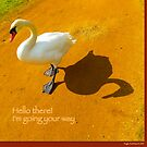 I'm going your way! A good company card. by Angele Ann  Andrews