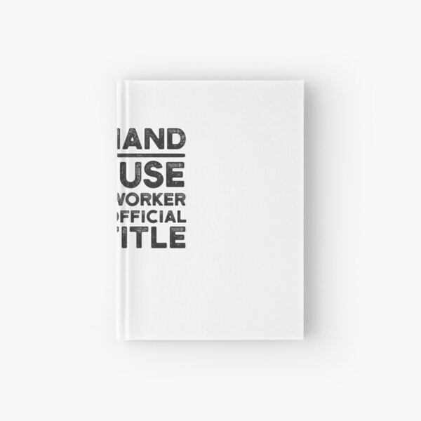 Deckhand Because Miracle Worker Isn't An Official Job Title Hardcover Journal