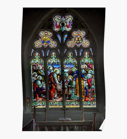 The Window at All Saints Misterton Poster