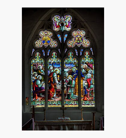 The Window at All Saints Misterton Photographic Print