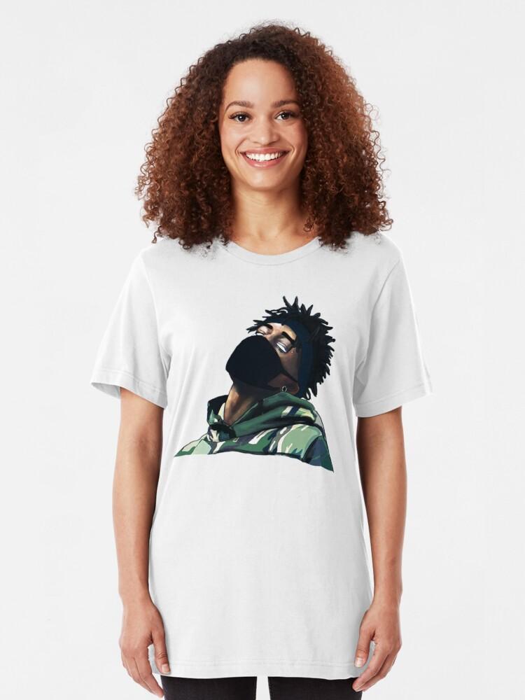 Scarlxrd Cutout Image | Slim Fit T-Shirt
