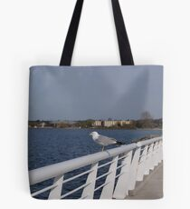 A Gull on the Bay Tote Bag