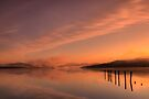 Loch Lomond 6am sunrise... by David Mould