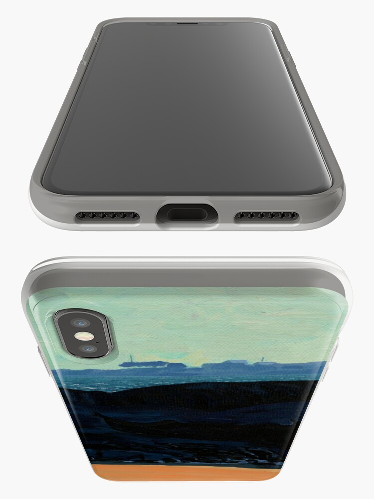 Alternate view of Inishturk from Eyrephort (Galway, Ireland) iPhone Cases & Covers