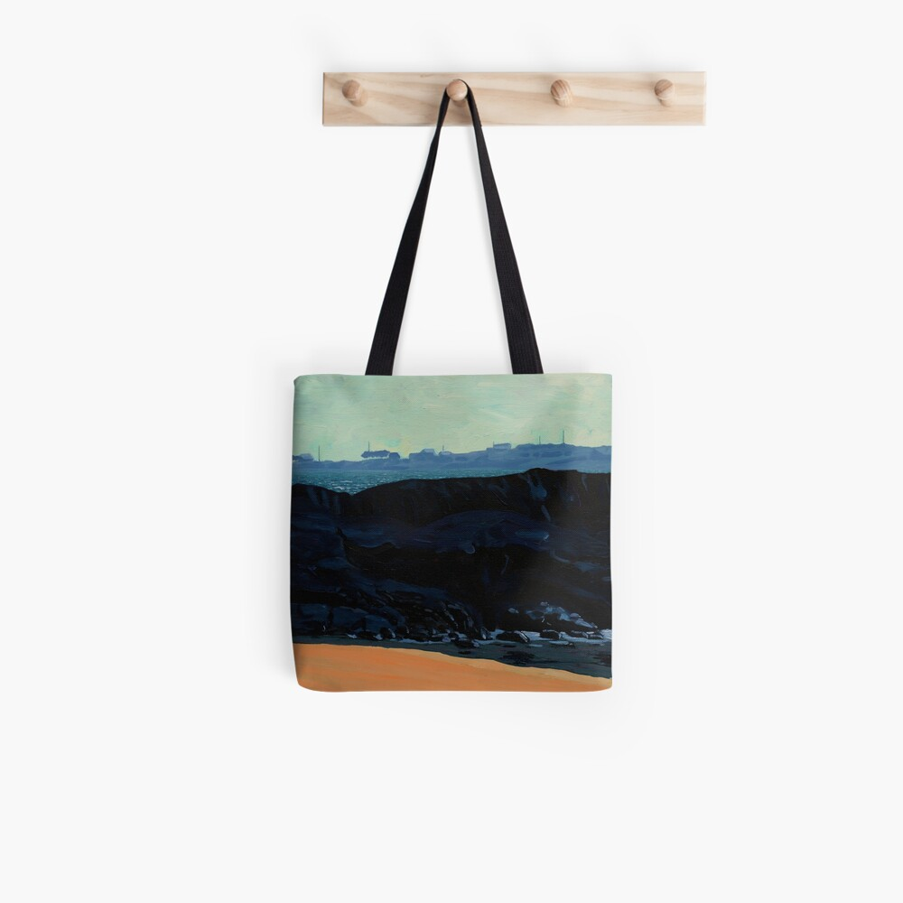 Inishturk from Eyrephort (Galway, Ireland) Tote Bag