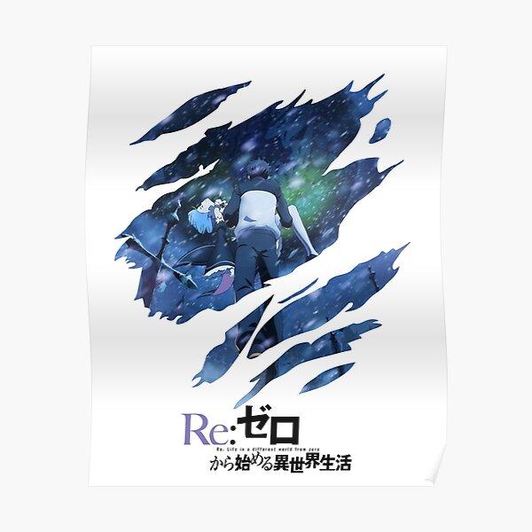 Re:Zero scratches Poster