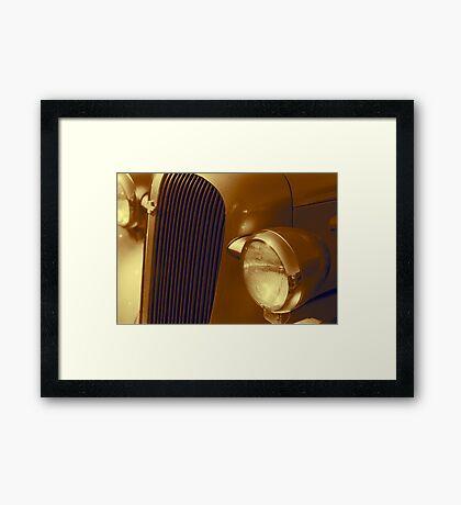 Warm Classic Framed Print