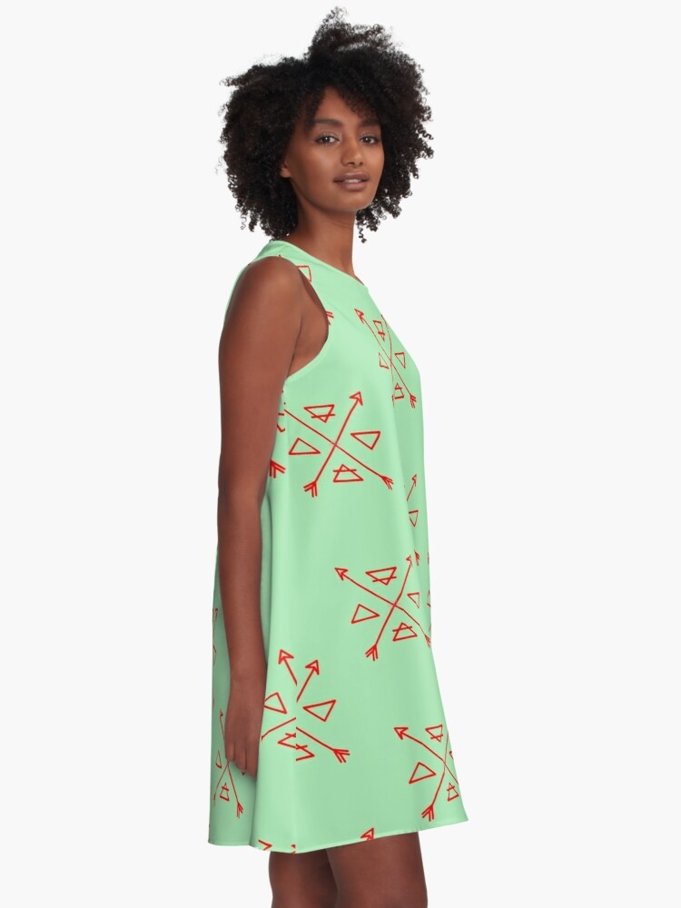 The 4 Elements Minimal X Design A Line Dress By Itsjouy Redbubble