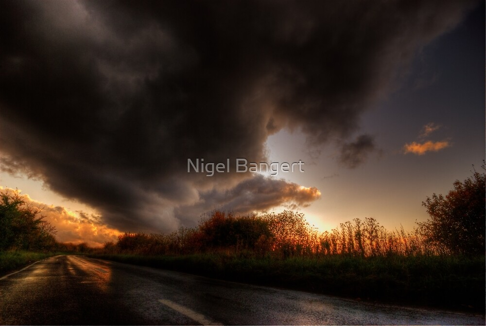 Stormy Skies by Nigel Bangert